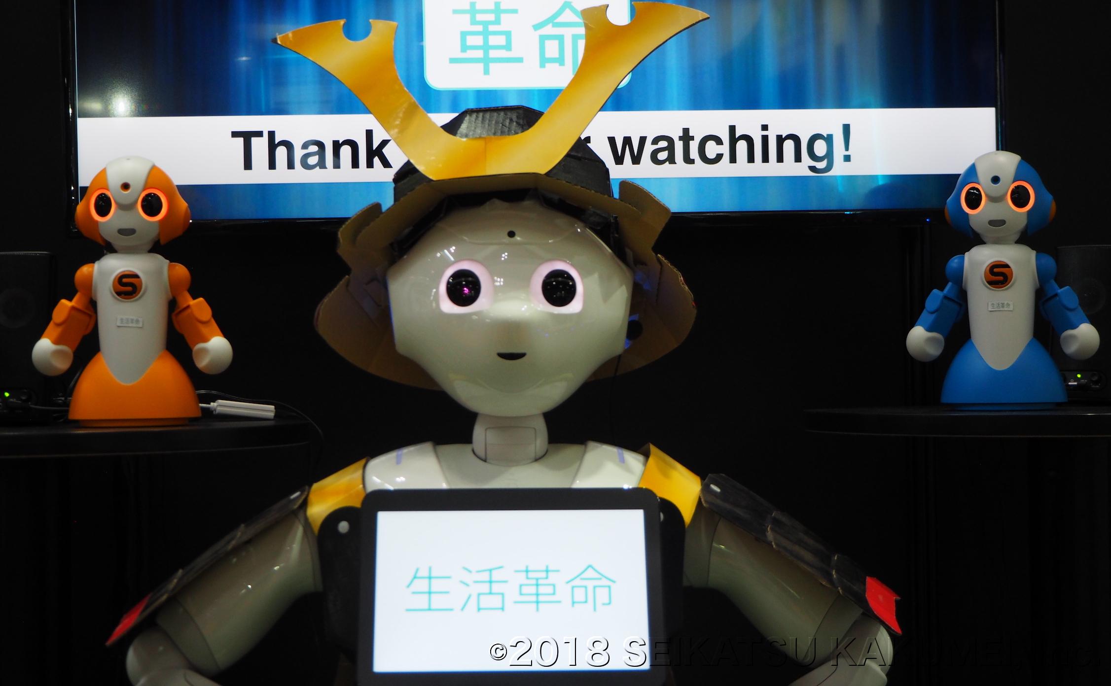 生活革命はロボット・Pepper(ペッパー)の活用方法について、仮に本体レンタルサービスだけだったとしても効果を向上させるための方法を日夜研究しています。