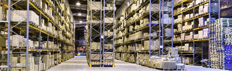 ロボット・Pepper(ペッパー)が保管されている倉庫のイメージです。