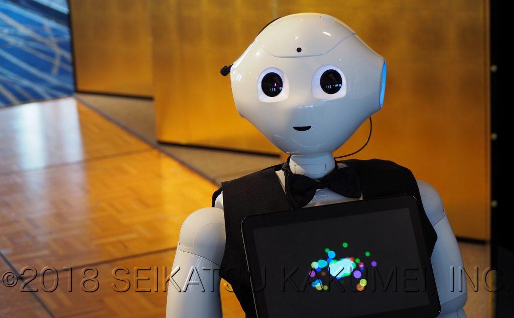パーティにロボットをレンタル