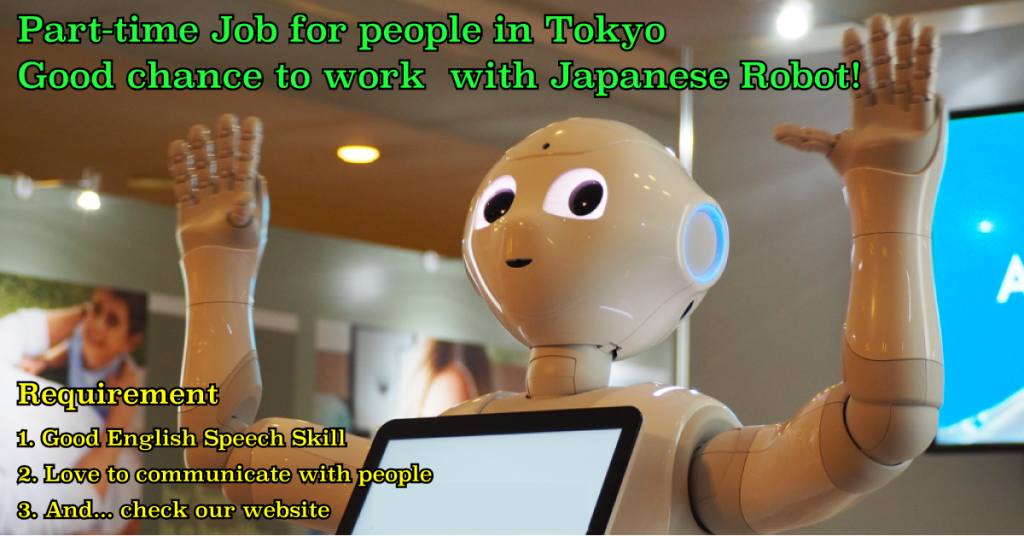 Part-time Jobs in Tokyo or Saitama
